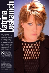 Katrina Leskanich at the Acoustic Festival of Britain 2012