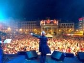 Katrina Leskanich in Pamplona