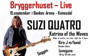 Suzi Quatro & Katrina of The Waves